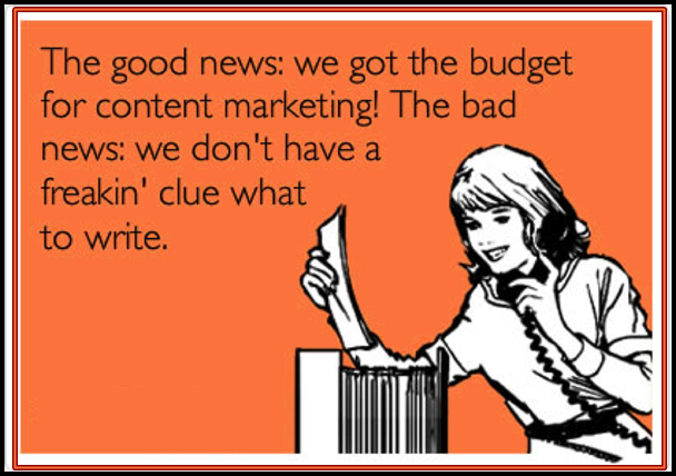 Funny content marketing images
