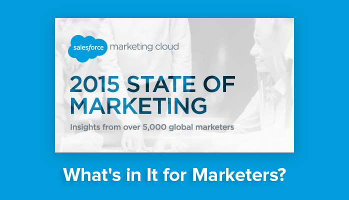 Is Email Marketing Dead? Some Insight From Salesforce State of Marketing 2015