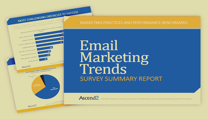 Survey: Managing a Healthy Click through Rate is the Biggest Email Marketing Challenge