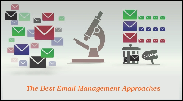 The best email management approaches