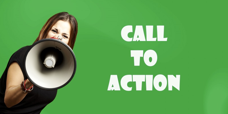 Strategies for powerful call to action