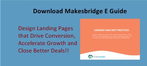 Makesbridge Landing Page E Guide