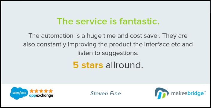 Makesbridge customer reviews